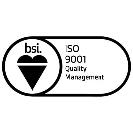 BSI assurance mark iso 9001 - certifications - nose filters - dust masks